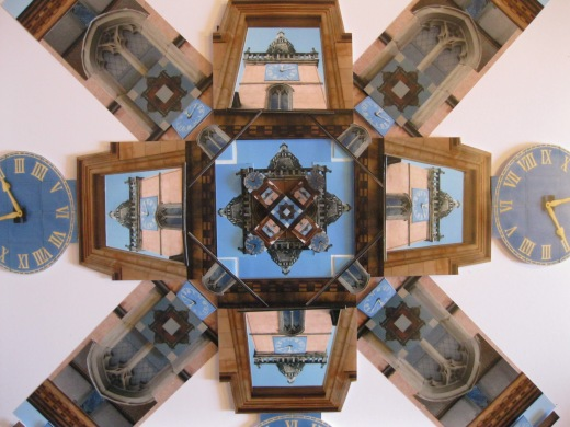 The Tron Steeple (clocks)