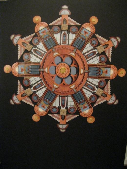 The Round Window (Templeton collage)