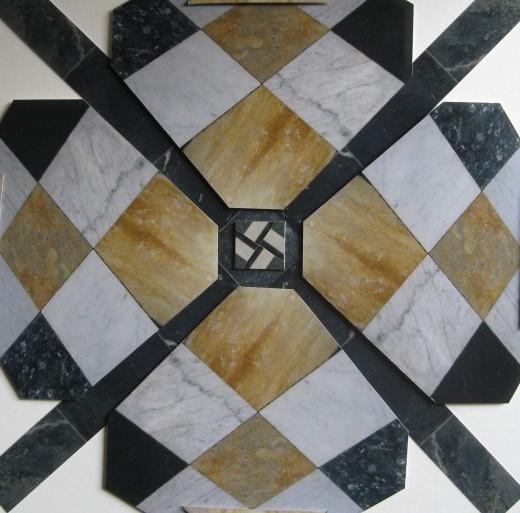 Kelvingrove Marble Floor Variation