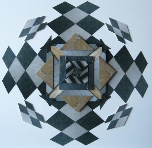 Kelvingrove Floor Square Collage