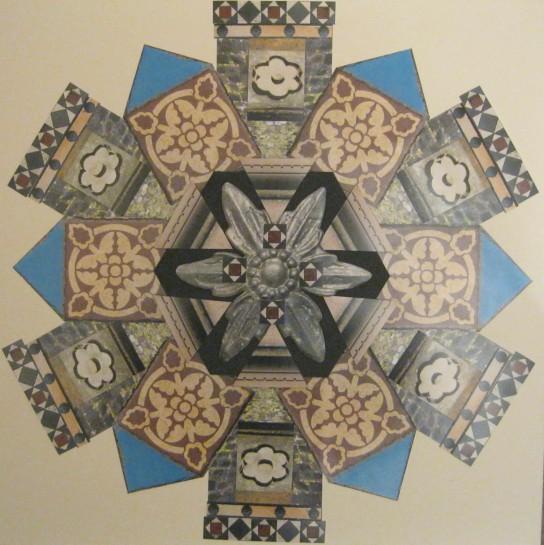 The Collage Design Shape,