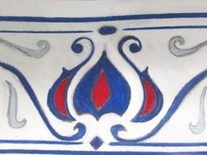 Wall Tile design from The Arlington Baths Club.