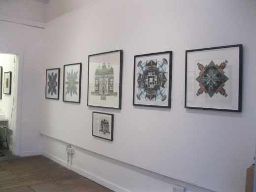 This view features 5 collages including 'Glasgow Street 'in the centre of the display area.